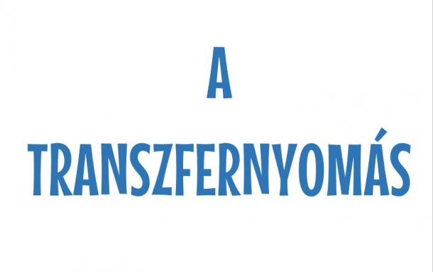 Emblémázási kisokos - Negyedik rész: A transzfernyomás