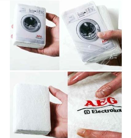 Zsugorított póló (és egyéb textilek)